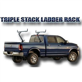 Newly listed STEEL UNIVERSAL PICKUP TRUCK THREE LADDER CONTRACTOR RACK
