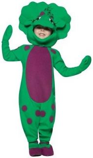 Barney Baby Bop Licensed Dress Up Toddler Boys Costume 3   4T