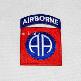 WW2 US ARMY 82ND AIRBORNE DIVISION PARATROOPER SHOULDER PATCH BADGE
