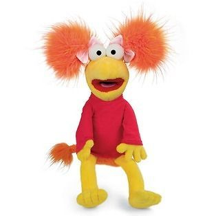 fraggle rock red soft toy retro plush 14 time left