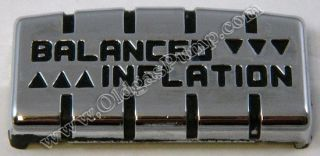 ECO 90 SERIES AIR METER BALANCED INFLATION PLATE FREE S&H AM 108