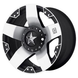 20x8.5 KMC XD Rockstar Black Wheel/Rim(s) 5x114.3 5 114.3 5x4.5 20 8.5