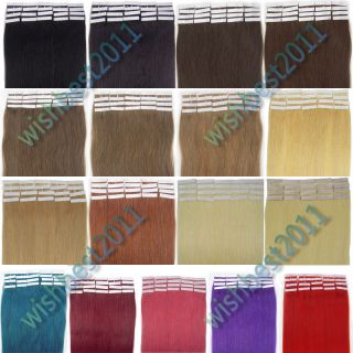 New Fashion Asian Remy Tape Human Hair Extensions in Ladys Beauty 5