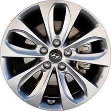 18 Alloy Wheels for 2011 2012 Hyundai Sonata   Set of 4   Brand New