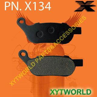Rear Brake Pads Harley Davidson FLSTN Softail Deluxe (Spoke wheel