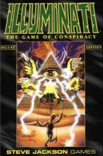 Illuminati Card Game   Deluxe Edition by Steve Jackson Games (Base Set