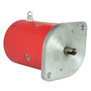 western snow plow motor 25556 25556a 12 volt cw rotate