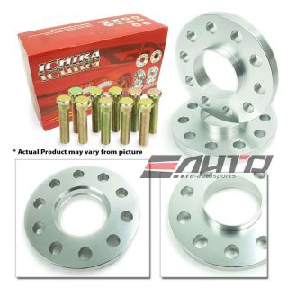 ICHIBA V1 12mm HUB CENTRIC RIM WHEEL SPACERS 5x114 67.1mm 12x1.5 Mazda