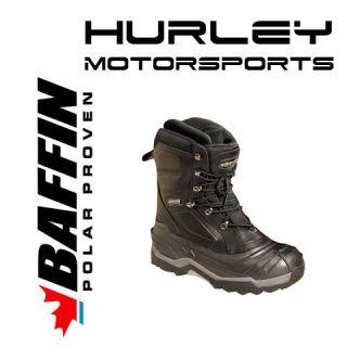 BAFFIN EVOLUTION Mens Snowmobile Boot  Black  Size 8, 9, 10, 11, 12