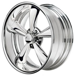 NEW 17x8 Billet Specialties Legend Series Mag or Mag G Wheels Hot Rod