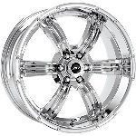 16 Inch Wheels Rims Chrome American Racing Trench 6x5.5 Lug AR620 NEW