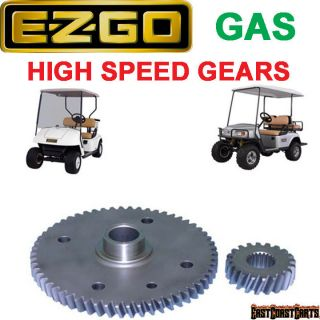 EZGO GAS Golf Cart 1998 up High Speed Gears 61 Ratio FASTEST