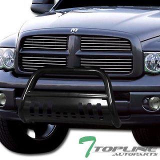 HD STEEL BULL BAR (brush push bumper grill grille guard) 02 05 DODGE