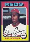 TOPPS BASEBALL CINCINNATI REDS DAN DRIESSEN WORLD SERIES CHAMPS #133