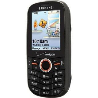 Newly listed Verizon Samsung Intensity U450 No Contract  QWERTY