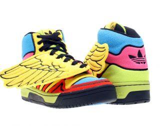 Adidas Jeremy Scott JS Wings Rainbow Sun/Poppy/Black Mens Shoes G61380