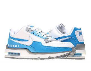 Nike Air Max LTD White/Stealth Blue Mens Running Shoes 407979 194