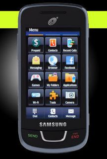 Samsung SGH T528G   Dark gray (Straight Talk) Cellular Phone