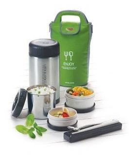 Newly listed NEW LOCK&LOCK HOTTANK Stainless Lunch Box, Thermos Bento
