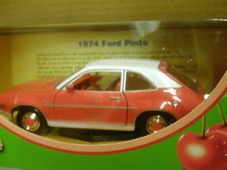 LOOK)*MOTOR MAX* FRESH CHERRIES DIE CAST  1/24 SCALE  1974 FORD PINTO