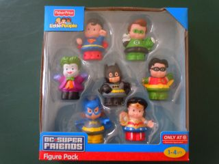 Fisher Price Little People DC Super Friends Target Exclusive Batman