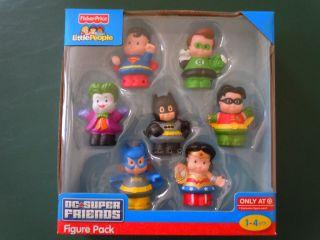 Fisher Price Little People DC Super Friends Target Exclusive Batman