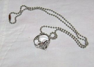 KINGDOM HEARTS II III LOGO RING 24 NECKLACE BIRTH BY SLEEP CHAIN OF