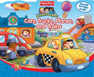 Fisher Price My Little People Cars, Trucks, Planes, & Trains w/ 40