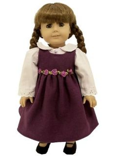 NEW 18 DOLL CLOTHES OUTFIT FOR AMERICAN GIRL JUMPER, SHIRT, SHOES