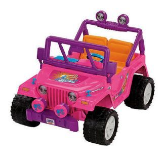 power wheels barbie jeep in Outdoor Toys & Structures
