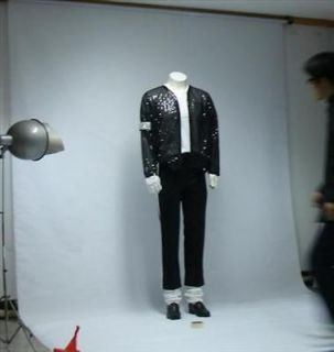 michael jackson billie jean jacket pant glove sock gift from