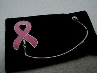 Newly listed Lot of 5 Breast Cancer Awareness Pink Ribbon Purse Hanger