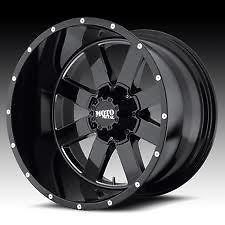 moto metal 962 18x10 gloss black wheels