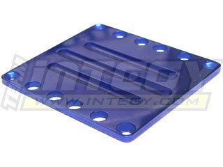 Integy Traxxas T Maxx 2.5, 3.3, & E Maxx Blue Aluminum Center Skid