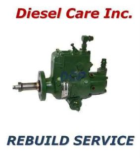 John Deere Tractor JDB & DB Diesel Injection injector Pump Rebuild