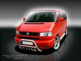 vw volkswagen transporter t4 bull bar grill nudge bar from