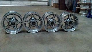 15 American Racing 898 5 lug Dodge Truck Wheels Rim Set 5x5.5 15x8