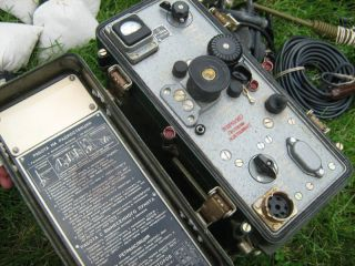 soviet russian military radio transceiver r 108m nos from lithuania