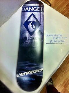 Nike Sb Blue Lobster Skateboard Deck X Alienworkshop X Concepts