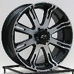 18 inch Wheels Rims Black Jeep Wrangler YJ Ford Ranger Explorer 5 Lug