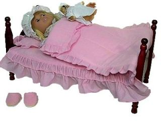 NEW 18 DOLL BED & BEDDING FOR AMERICAN GIRL DOLLS ( BUY 2 TO STACK AS