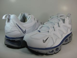 NIKE MENS AIR MAX TAILWIND 96 12 White/Wolf Grey Old Royal  510975 101