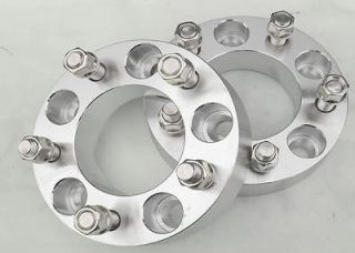 Wheel Spacers 5x4.5 to 5x4.5   Set of 2   12x1.25 Studs