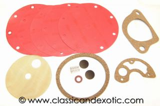 100MM SEV FUEL PUMP GASKET REBUILD KIT DELAGE DELAHAYE & MORE