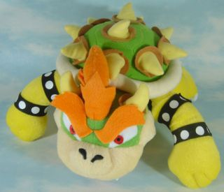 Newly listed new super mario bros bowser 10 soft plush toy doll