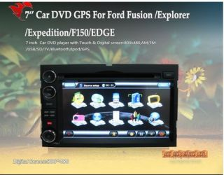 DVD/GPS/3G INTERNET Player FORD FUSION/EXPLORER/EXPEDITION/EDGE (DVB T