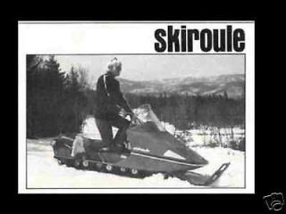 skiroule 1971 1972 1973 300 440 447 snowmobile manuals time