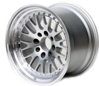 15X8 VARRSTOEN V3 CCW STYLE WHEEL 4x100 +25 MACHINED FACE FIT CIVIC SI