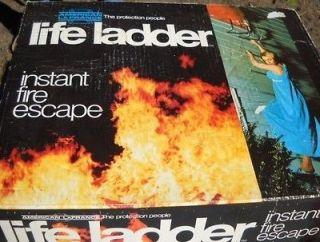 AMERICAN LA FRANCE life ladder instant FIRE ESCAPE 15 ft, Deer Stand