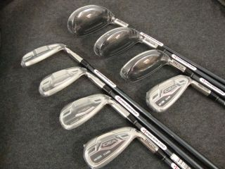 Newly listed Adams Idea a12OS Graphite Iron set 4 6 Hybrid, 7 9, PW